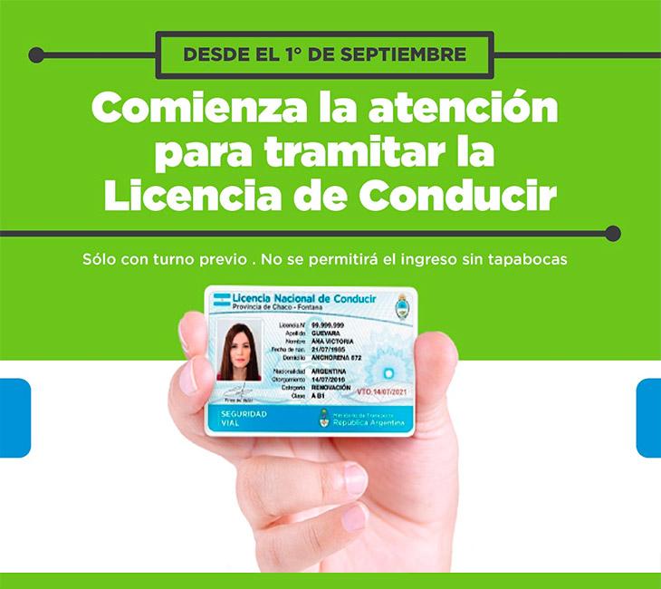Comienza la atención para tramitar la Licencia de Conducir