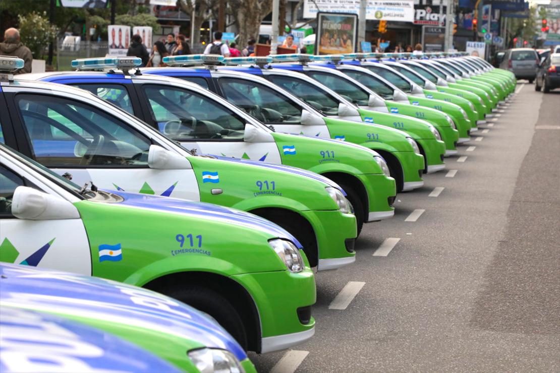 La Comuna reparó 20 móviles para la Policía Local