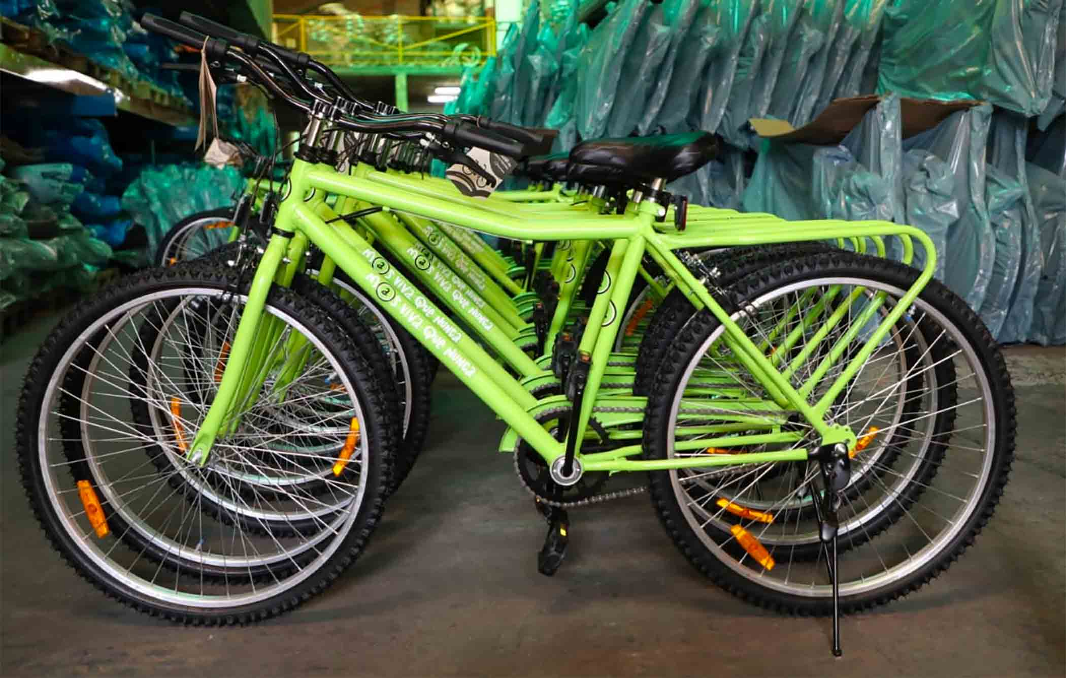 """Lanzamos el programa """"Tu primera bici"""" para todos los alumnos de las primarias del Partido"""