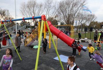 Un nuevo patio de juegos para todos los chicos y chicas de Wilde Este