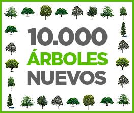 10.000 árboles nuevos