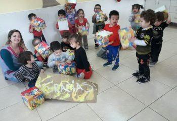 El Día del Niñx se celebró con regalos y sonrisas en los Jardines de Avellaneda