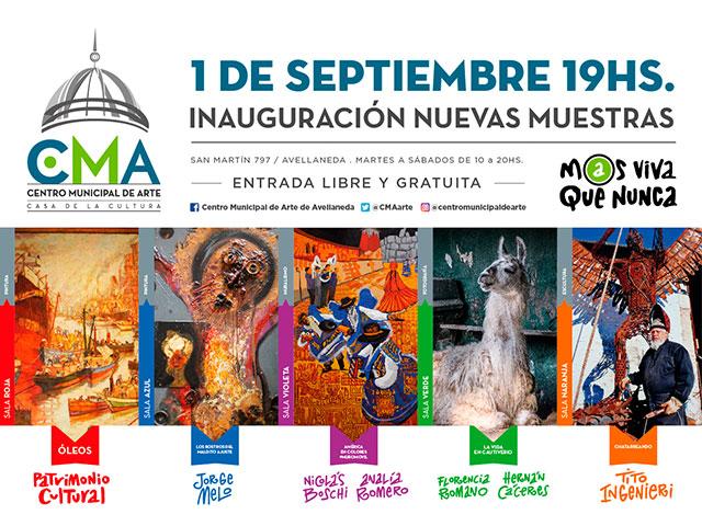 Ajuste, cautiverio, chatarras y colores de América, los temas de las nuevas muestras en el CMA