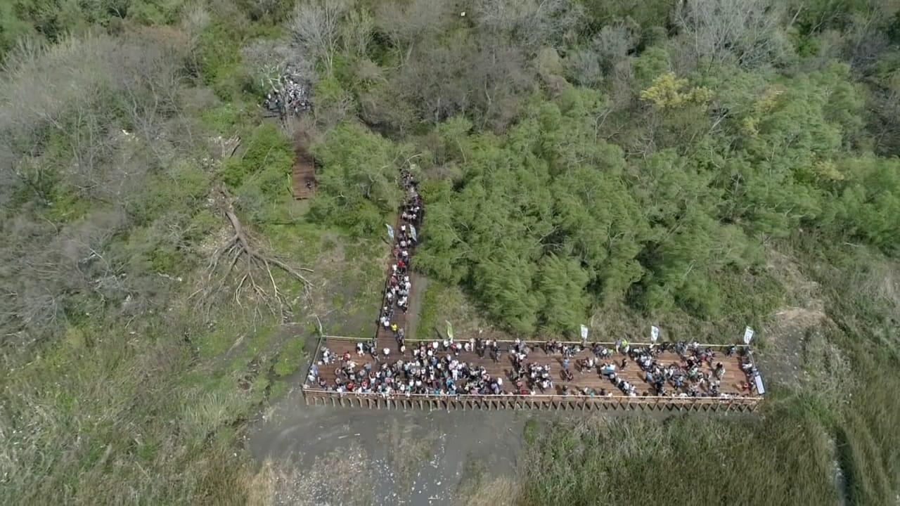 Se expande el verde: nuevos senderos y un mirador al río en la Eco Área