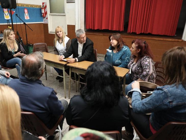 El Municipio entregó otros $ 8 millones para mejoras edilicias en escuelas provinciales