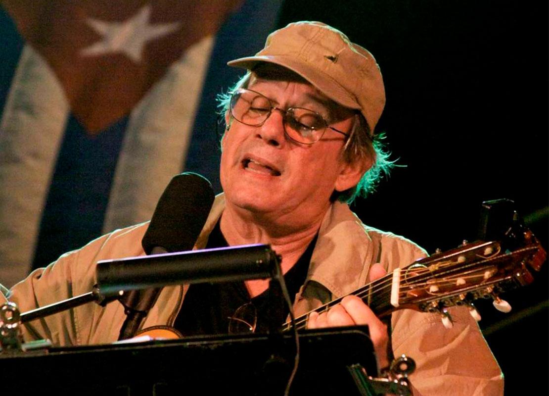 Histórico: el trovador cubano Silvio Rodríguez tocará gratis en Avellaneda