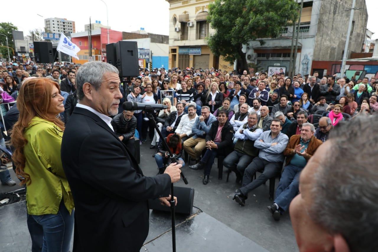 Ferraresi participó de la inauguración de la nueva sede gremial del SUMA