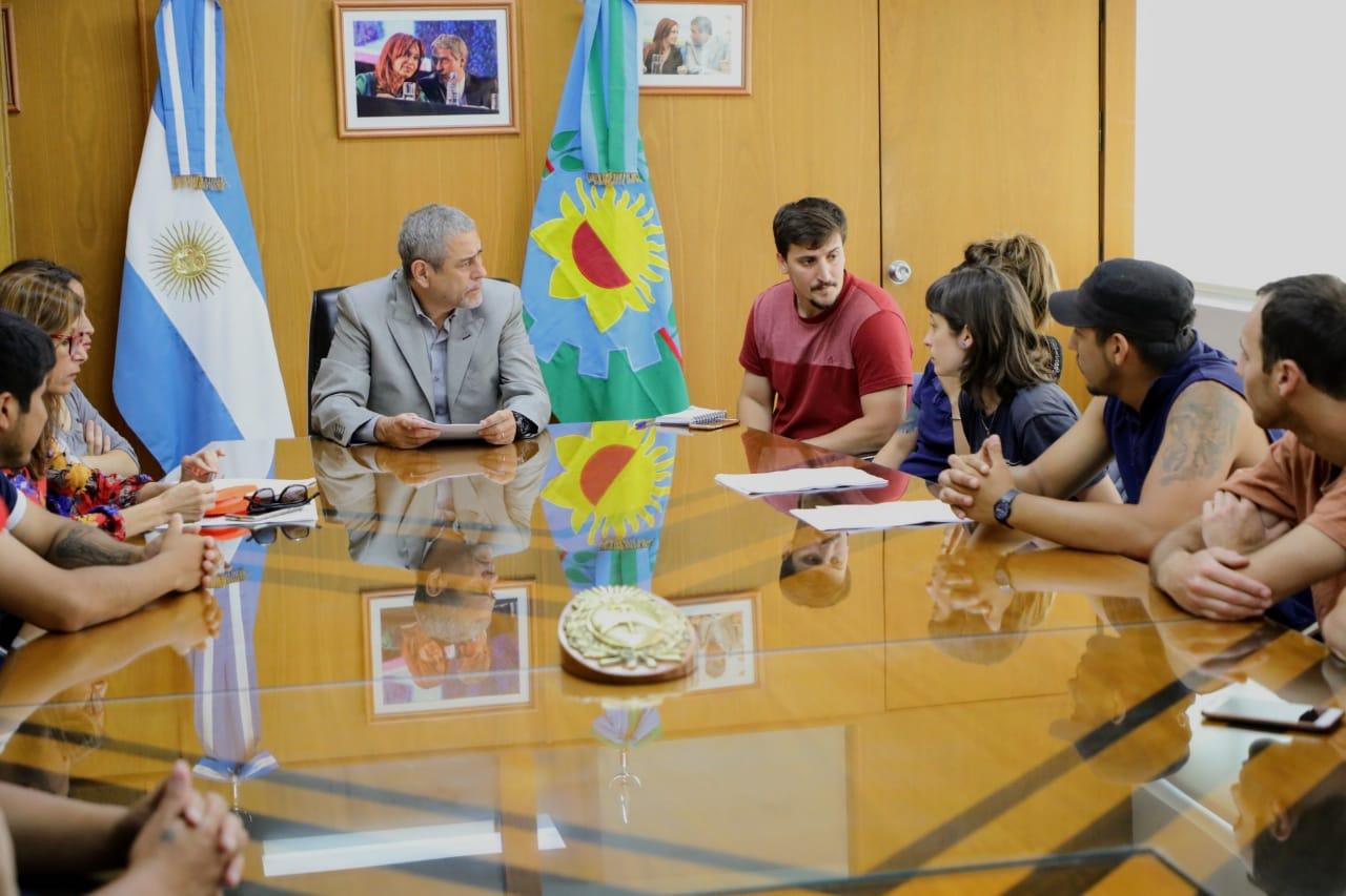 Ferraresi recibió a los despedidos de SIAM: trabajaron en el pedido de reincorporación