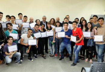 Estudiantes de escuelas técnicas de Avellaneda fueron capacitados en «fibra óptica»