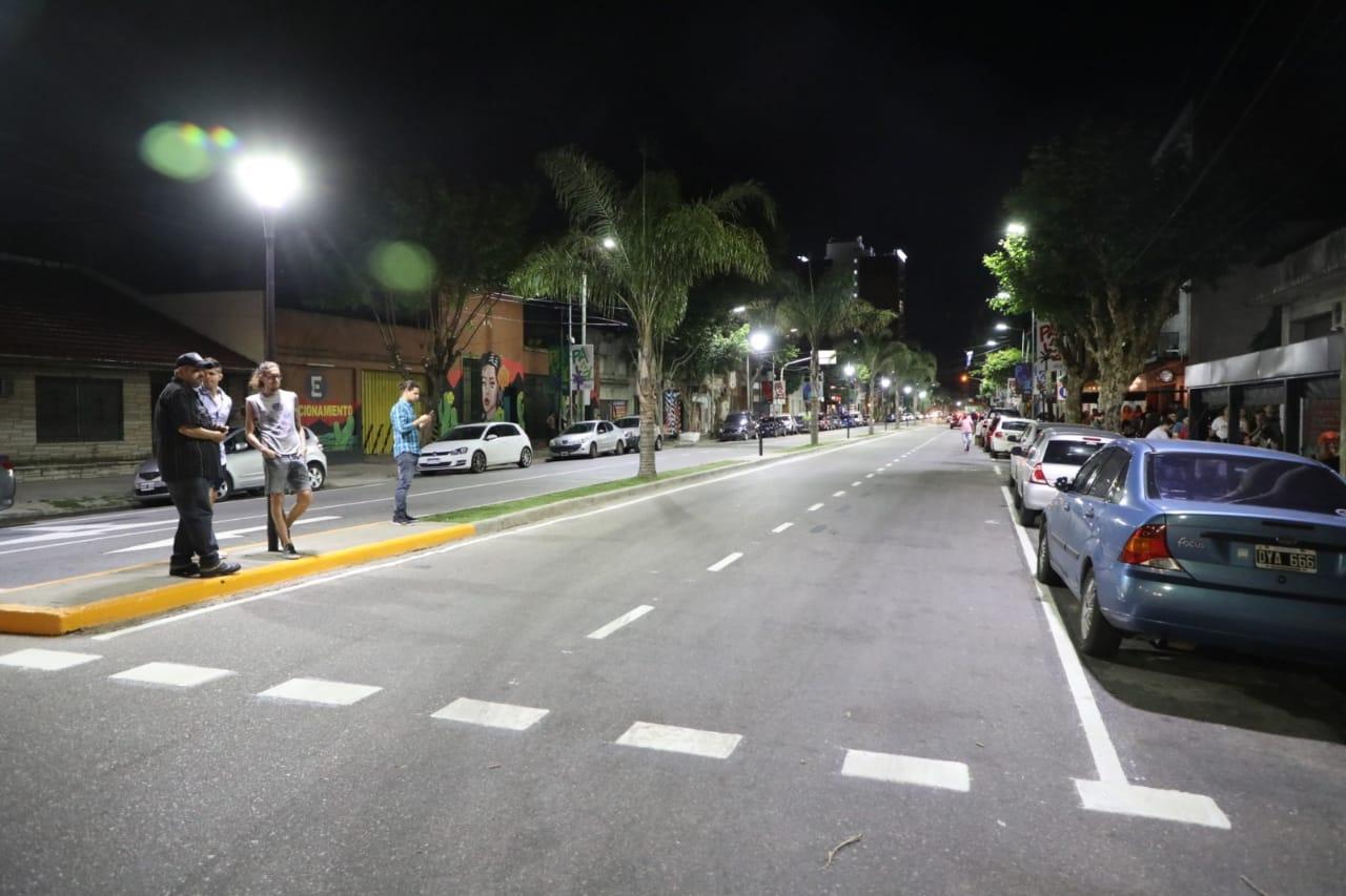 #QuedateEnAvellaneda: El municipio embelleció la Avenida Palaá para fortalecer el comercio local