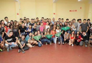 Estudiantes secundarios de Avellaneda se comprometen con la realidad social y educativa del país