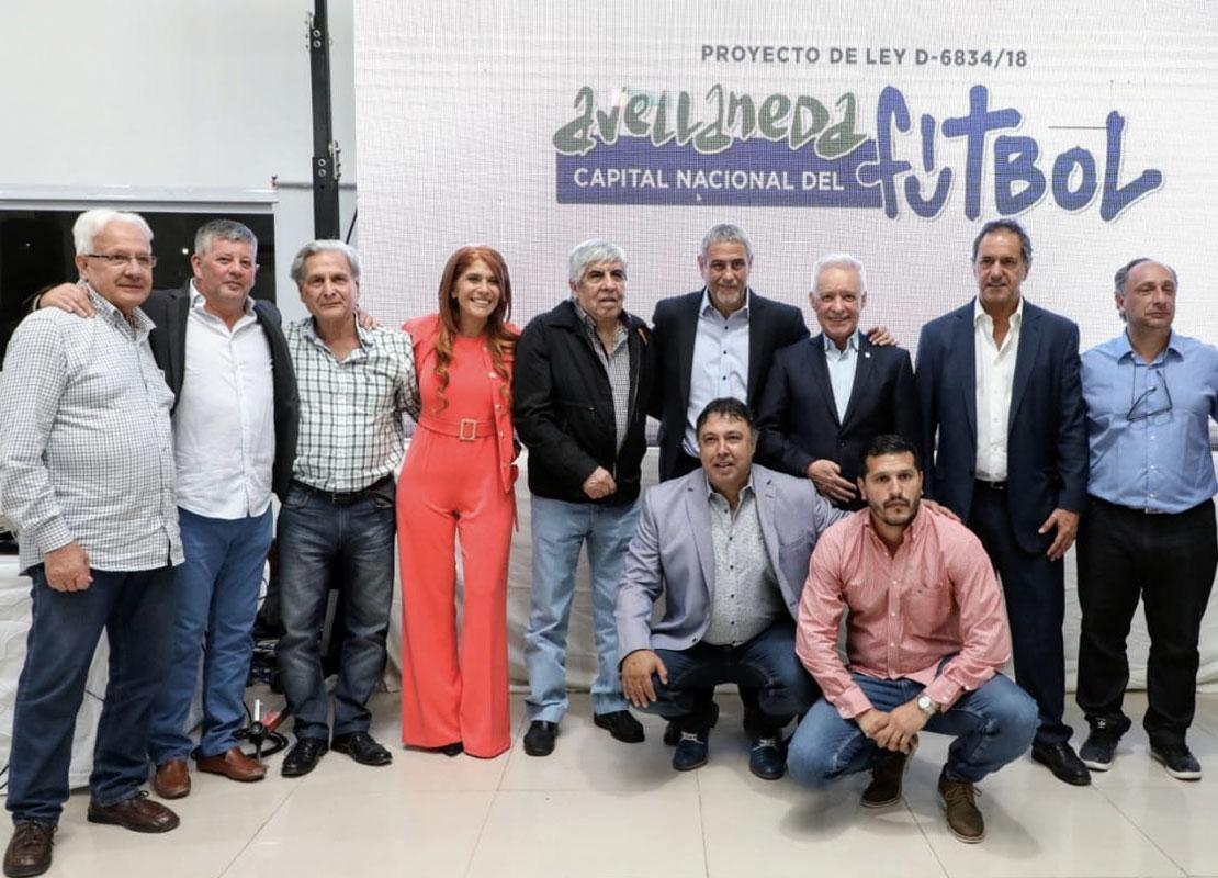 """Independiente y Racing apoyan el proyecto de declarar a Avellaneda como la """"Capital Nacional del Fútbol"""""""