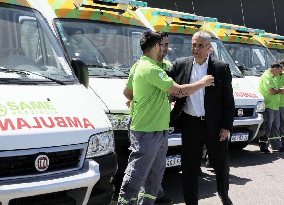 Con seis ambulancias, llega el SAME a Avellaneda