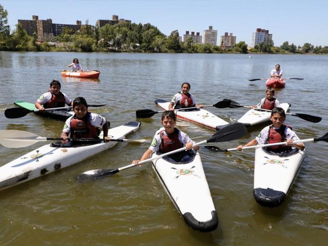 La Escuela de Canotaje recibió nuevo equipamiento y será sede de una copa argentina