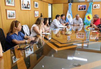 Ferraresi acordó con los gremios municipales un aumento salarial que llega hasta el 46%