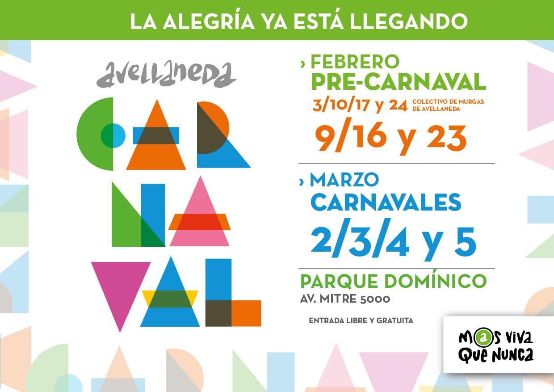 Avellaneda celebra Carnaval
