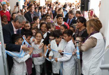 Ferraresi sigue inaugurando obras en las escuelas públicas de Avellaneda