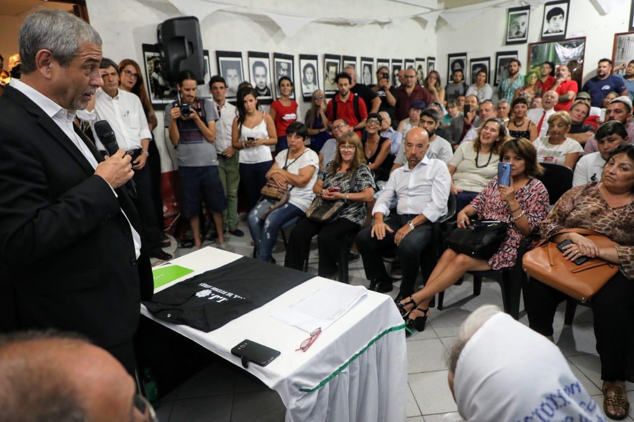 Ferraresi firmó un convenio con HIJOS y ratificó la búsqueda de «memoria, verdad y justicia»