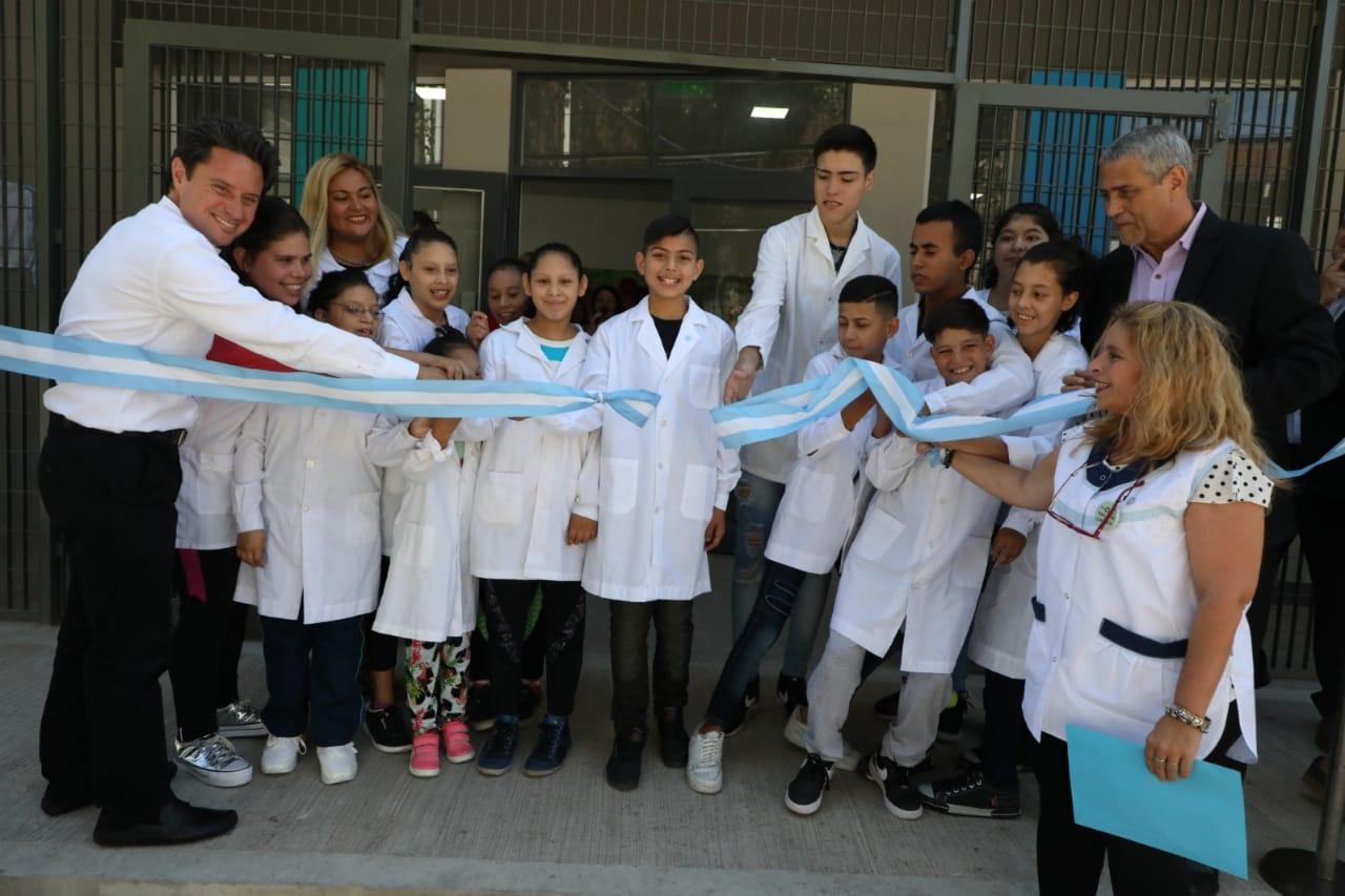 La Escuela Especial 502 tiene una nueva sede: fue construida por la Comuna