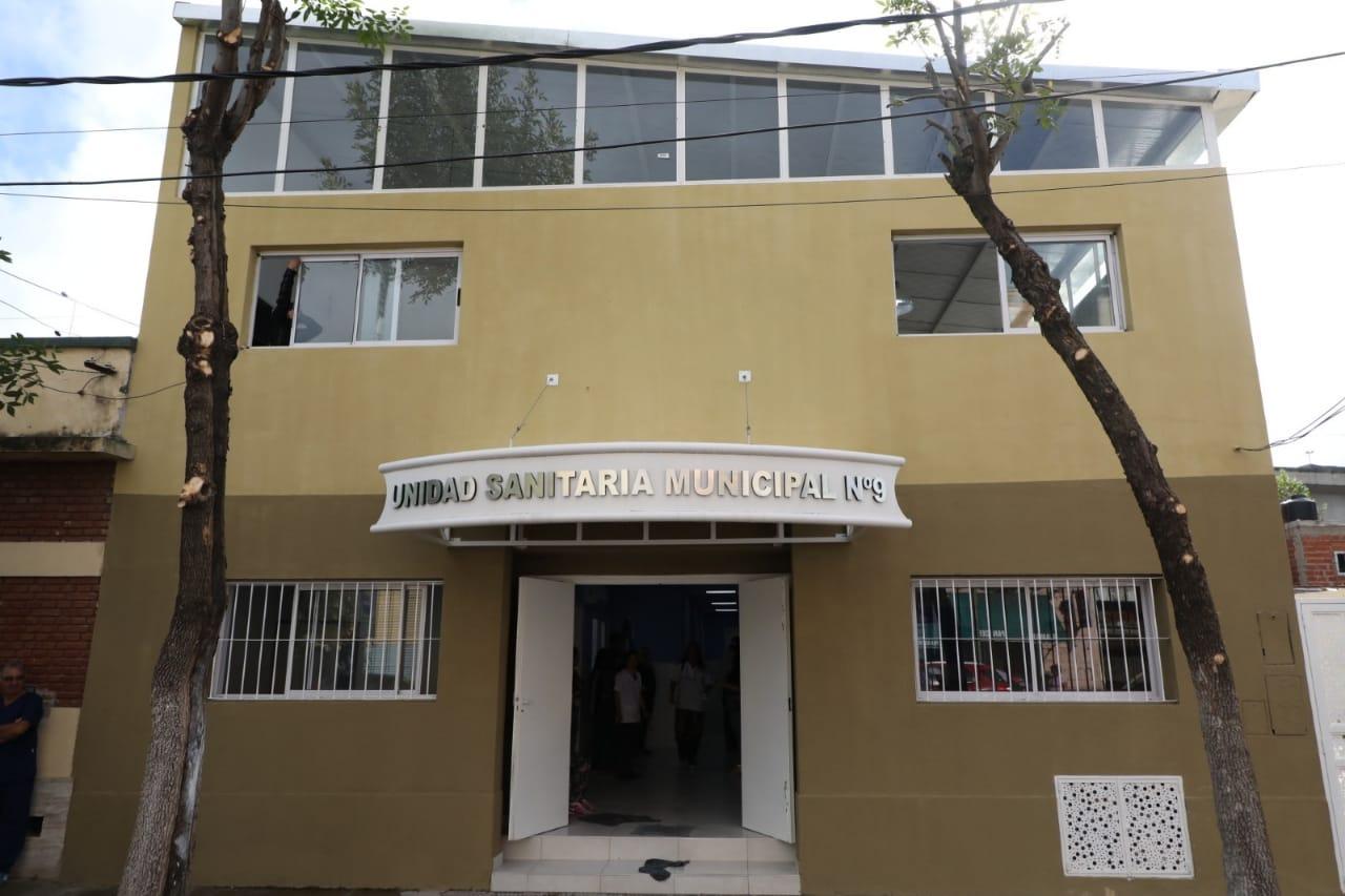 El intendente inauguró la ampliación de la Unidad Sanitaria de Isla Maciel