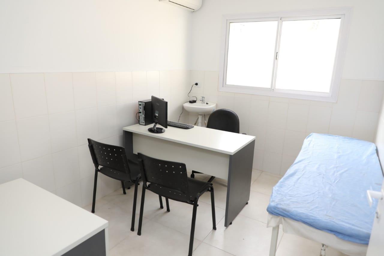 Más salud: Ferraresi inauguró la ampliación de la Unidad Sanitaria de Isla Maciel