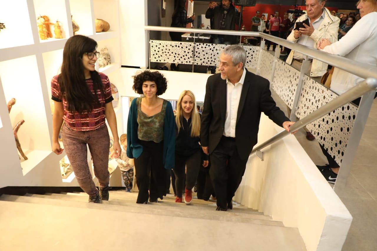 Ferraresi inauguró obras en los institutos municipales de Cerámica y Artes Plásticas