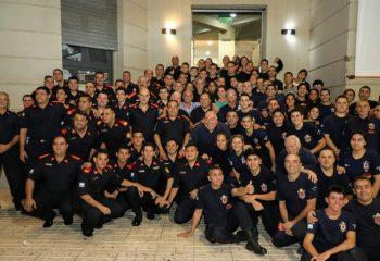 El joven bombero que murió cuando iba al cuartel fue declarado «Ciudadano Ilustre»