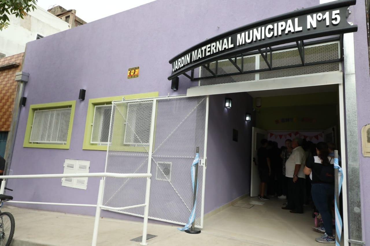 Un nuevo Jardín Maternal Municipal para el barrio de Dock Sud
