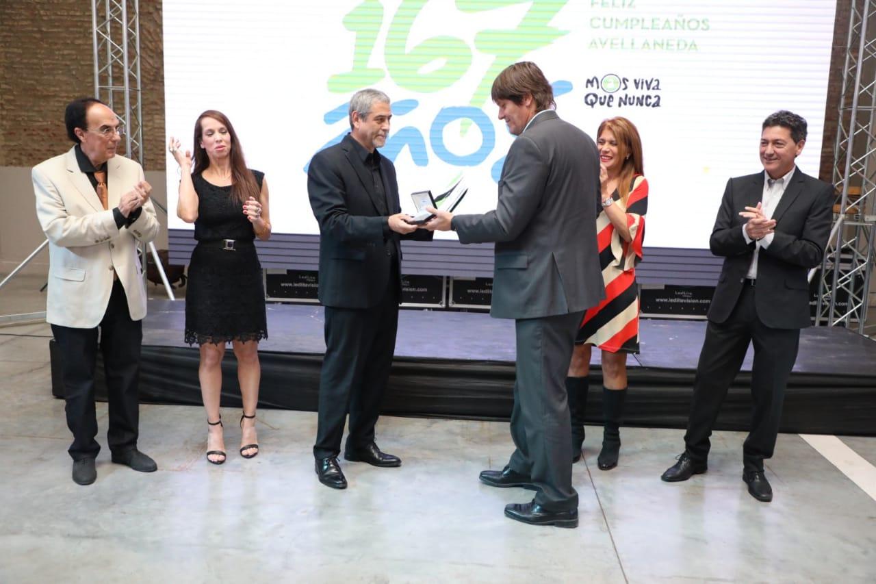 Con festejos, reconocimientos y música, Avellaneda celebró los 167 años de su fundación