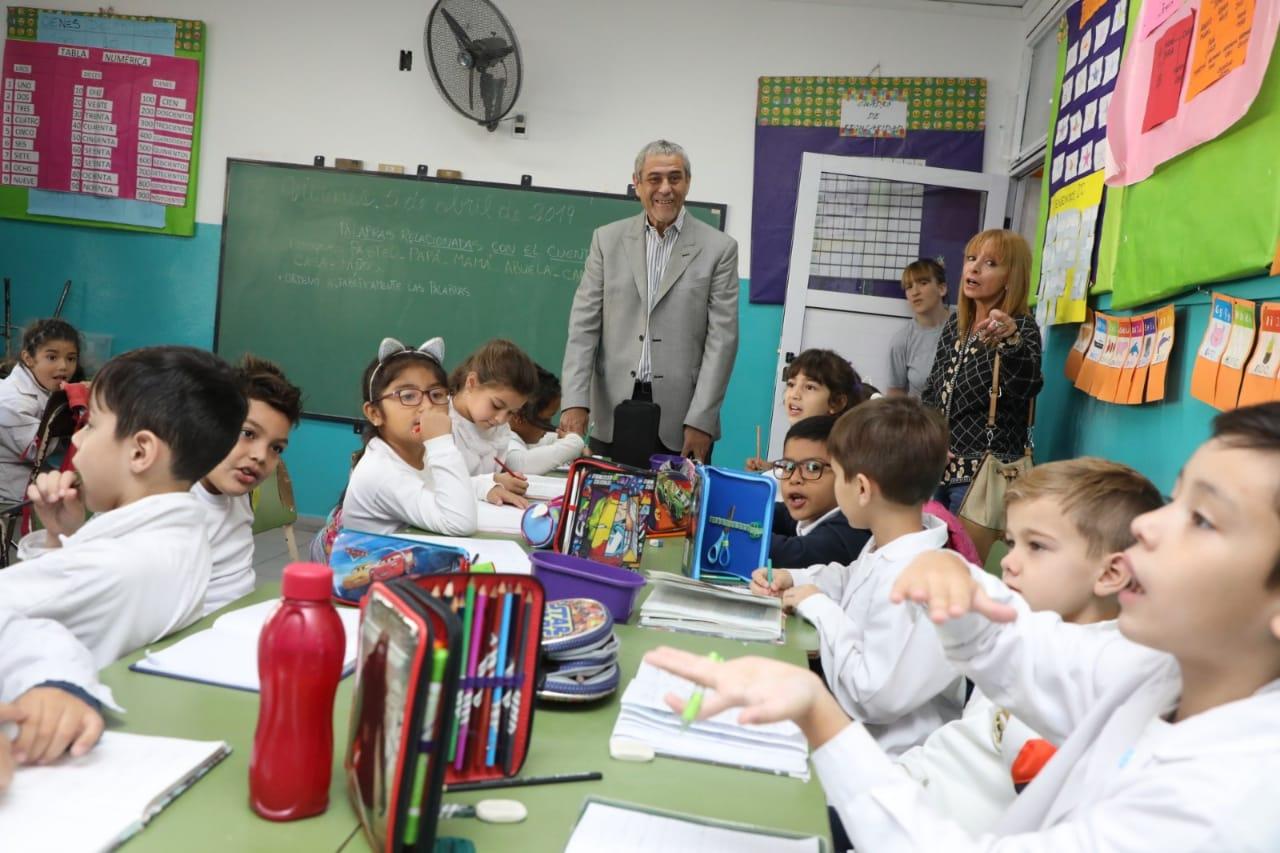 Más escuelas se suman al plan integral de infraestructura de la Comuna