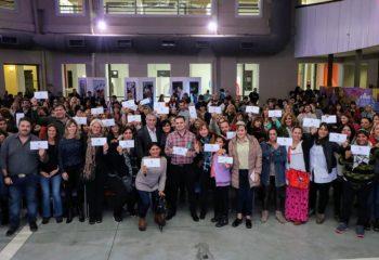 Ferraresi entregó más de 29 millones de pesos para obras edilicias a escuelas provinciales de la ciudad