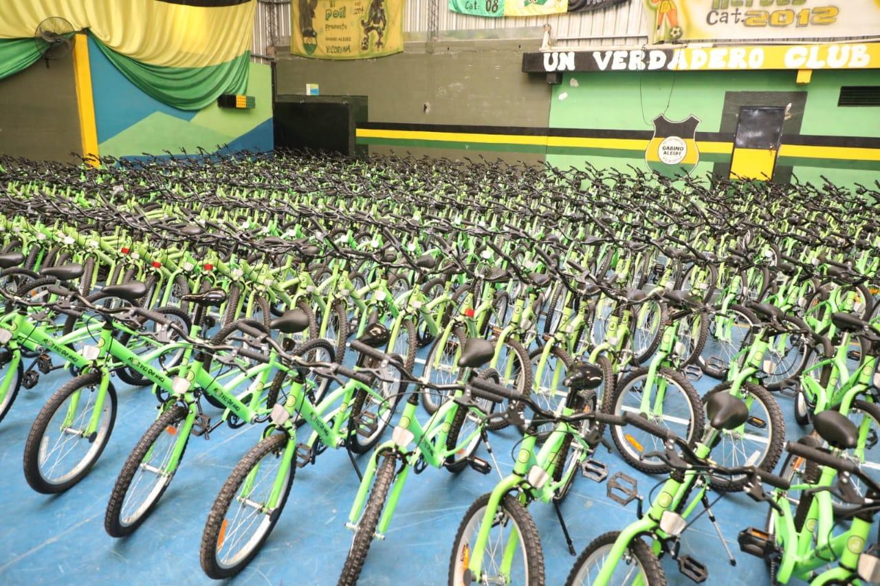 Nueva entrega de «Tu Primera Bici» para ingresantes a la escuela primaria