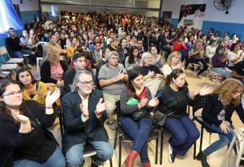 Ferraresi inauguró nuevos espacios en el Instituto Superior de Formación Docente N° 1
