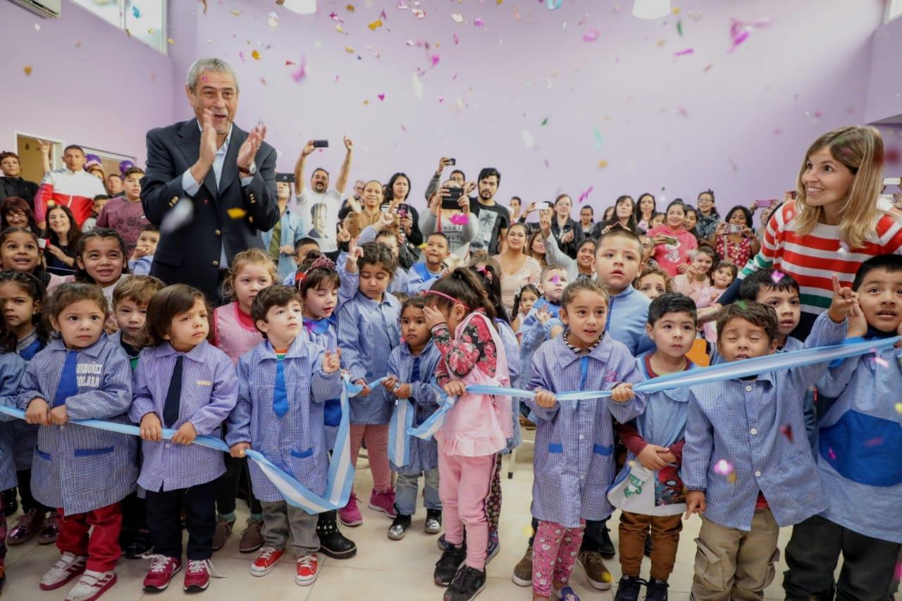 El Jardín de Infantes Municipal 31 de Sarandí tiene un nuevo SUM