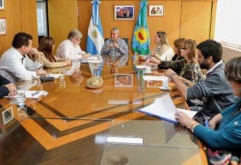 Ferraresi recibió a directivos de escuelas técnicas de la Región II