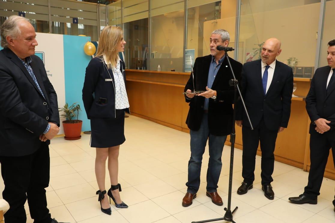 Ferraresi participó del 50° aniversario del Banco Nación de Wilde