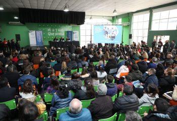 Ferraresi inauguró una jornada de capacitación destinada a la mejora ambiental de la Cuenca Matanza Riachuelo
