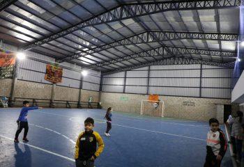 Wilde Oeste: El Intendente inauguró obras en el Club San Baltazar