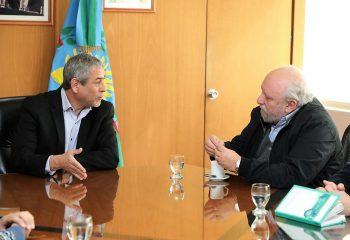 El intendente Ferraresi y el doctor Romero supervisaron la construcción del nuevo hospital municipal veterinario