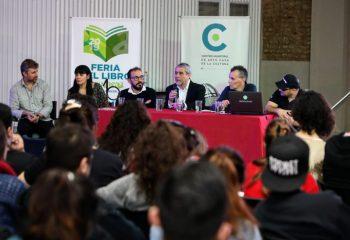 Clase abierta sobre la «marca Avellaneda» para estudiantes de Diseño Gráfico de la UBA