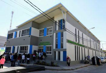 Ferraresi inauguró el nuevo edificio municipal para el Centro de Formación Integral 2 de Wilde