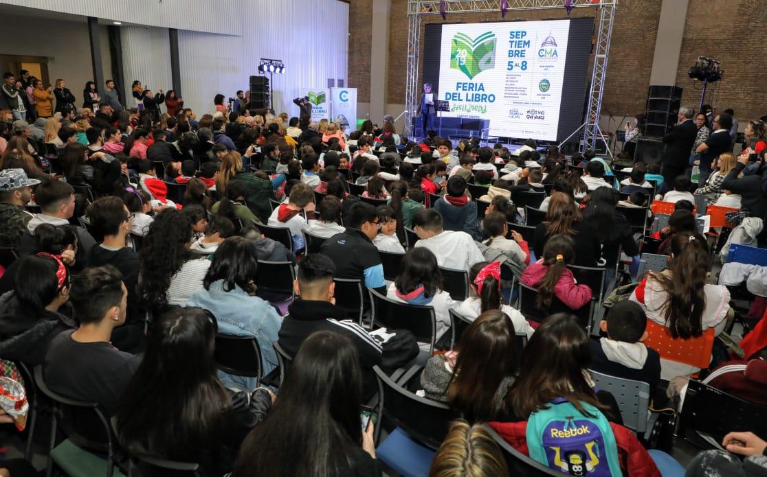 Más de 25 mil personas visitaron la Feria del Libro de Avellaneda