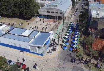 Ferraresi inauguró el nuevo edificio que construyó el municipio para la comisaría 5ta de Wilde