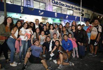 Ferraresi inauguró obras en tres clubes de barrio donde el municipio invirtió más de 4 millones de pesos