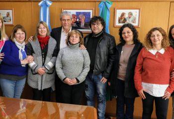 Ferraresi recibió a directivos de escuelas primarias para adultos