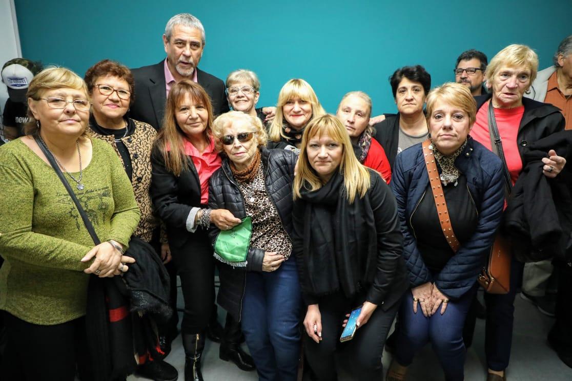 Ferraresi inauguró obras en dos instituciones de Piñeyro