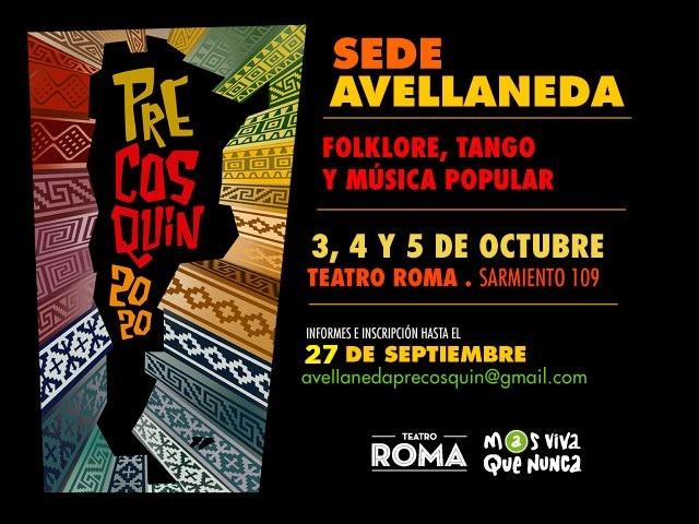 Avellaneda es sede de la preselección al certamen pre Cosquín 2020