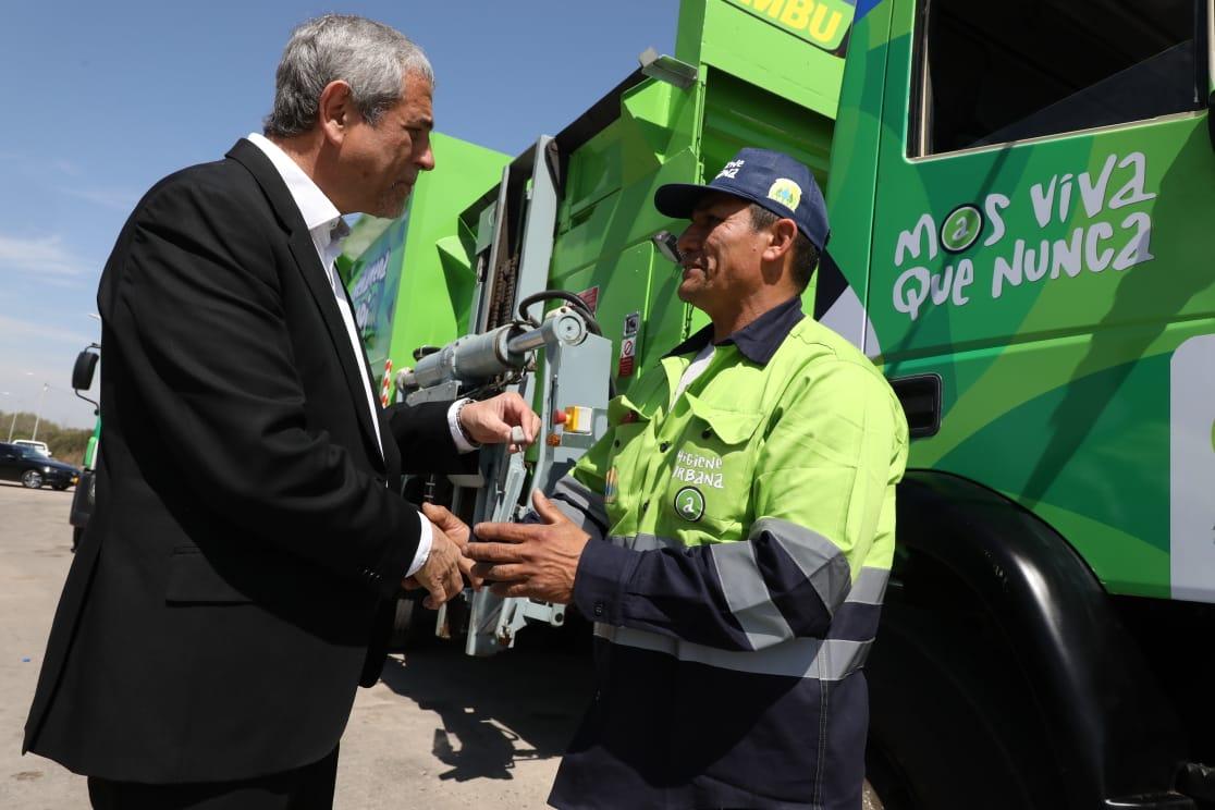 Medio ambiente: el Municipio incorpora un nuevo programa para reciclar neumáticos