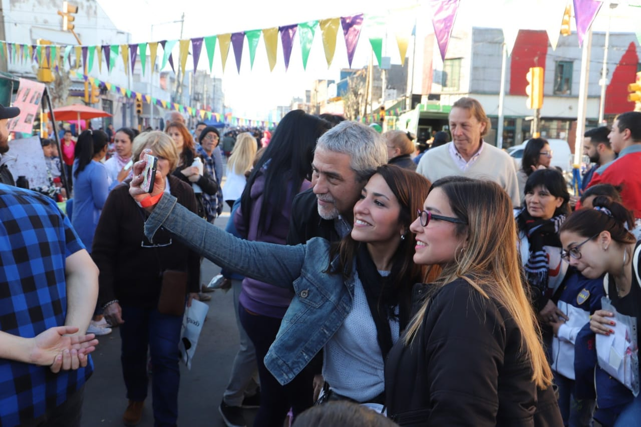 Una multitud participó del festival «Orgullo Dock Sud»