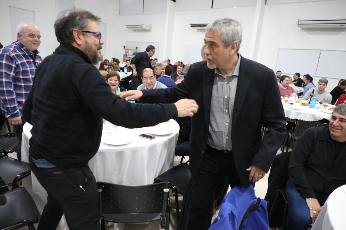 Ferraresi se reunió con productores y comerciantes de Avellaneda